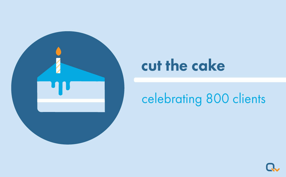 Cut the Cake: Qwickly's Celebrating!