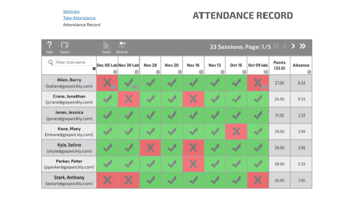 Qwickly Attendance | Blackboard, Canvas and D2L Brightspace